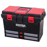 SHUTER Tools Storage Box [TB-802] - Red/Black - Box Perkakas